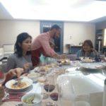 CEO Raimondo Romani, chef for a night